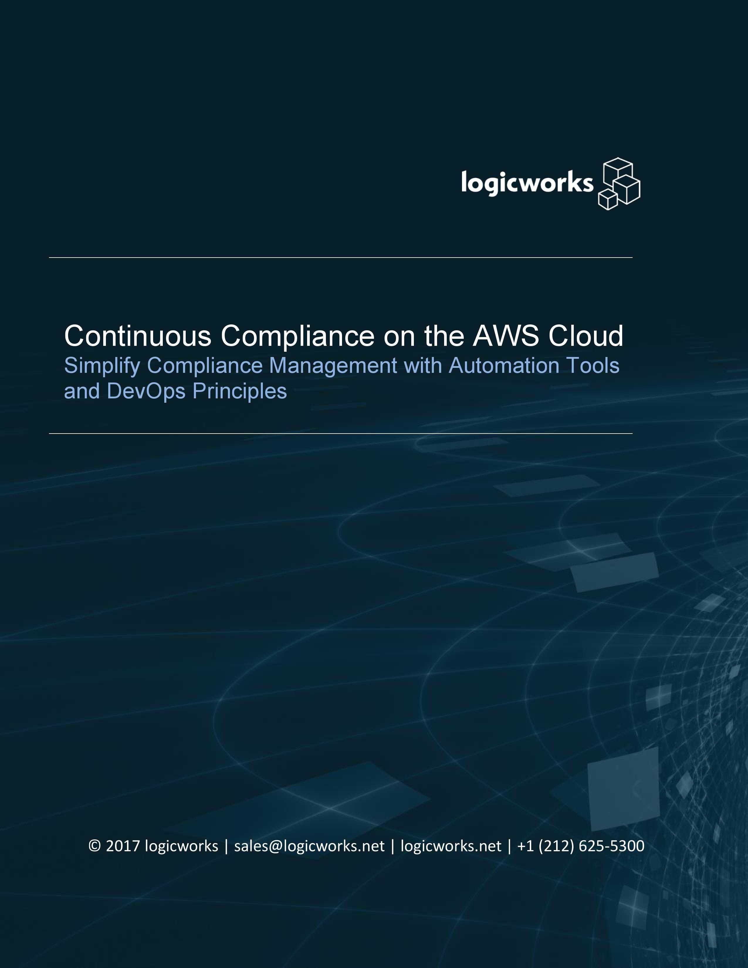 Continuous Compliance on the AWS Cloud.jpg