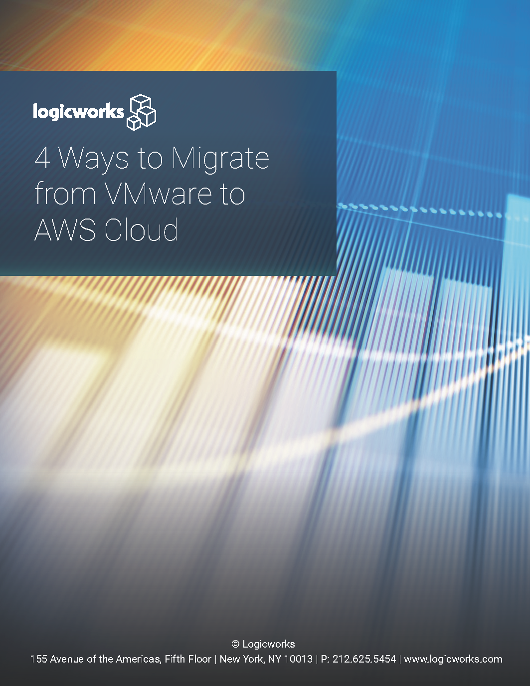 Logicworks eBook - 4 Ways to Migrate from VMware to AWS