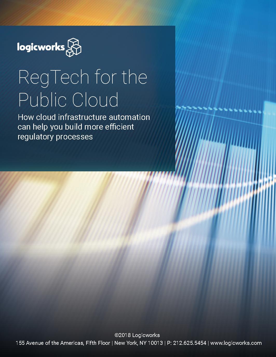 Logicworks eBook - RegTech for the Public Cloud